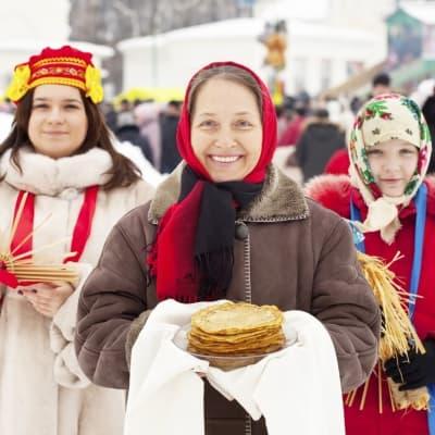 Fête de l'hiver russe