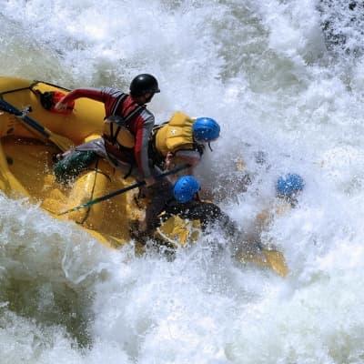 Rafting à Voss