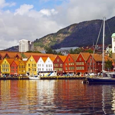 Tour du port de Bergen en bateau