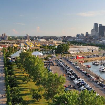 Le quartier du Vieux Montréal
