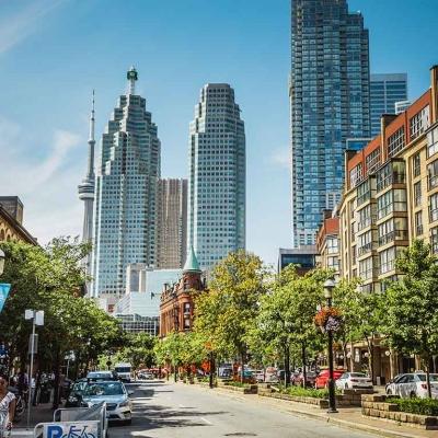 Visite guidée privative de Toronto à pied avec guide francophone