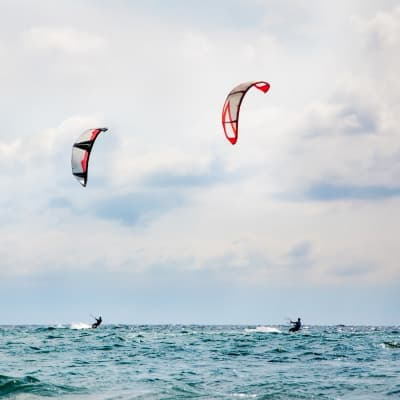 Initiation au Kitesurf sur l'ile de Boa Vista