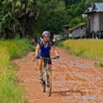 Visite de Borobudur à Bicyclette