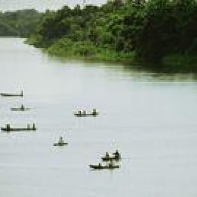 Journée sur le fleuve Preguiças en voadeira (hors bord)