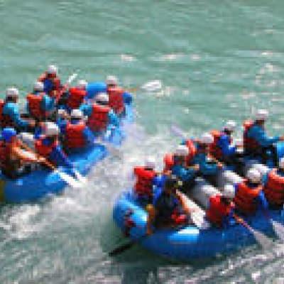 Descente de la Rivière Kicking Horse en rafting