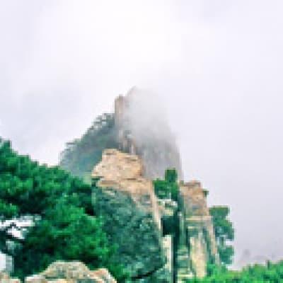 Via ferrata sur la Montagne jaune (Huangshan)