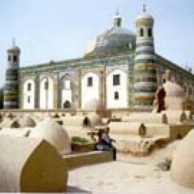 La mosquée Id Kah (Kashgar)
