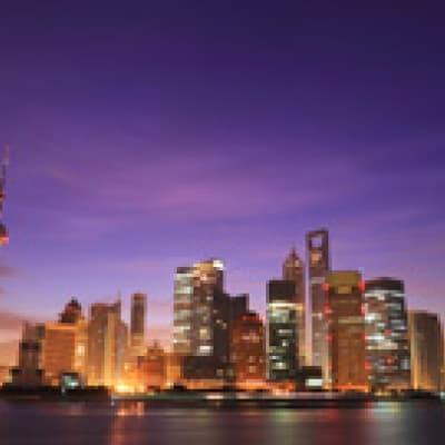Soirée au Bar Rouge de Shanghai
