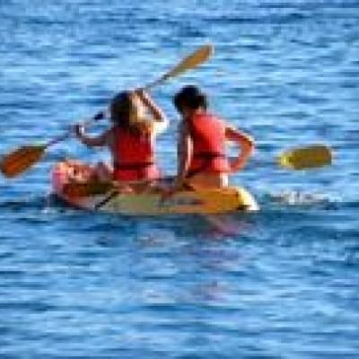 Kayaking on the Bengoh River