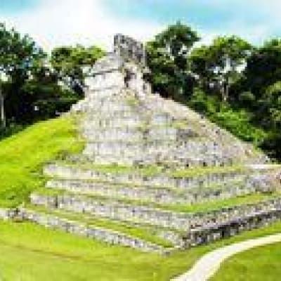 Visite de la zone archeologique de Palenque