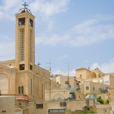 Visite des lieux saints à Bethléem