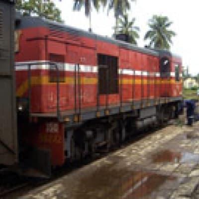 Le train Fiananrantsoa-Manakara