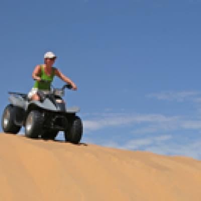 Une excursion en quad - Namibie
