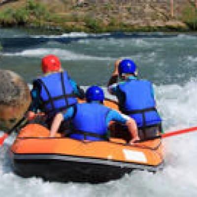 Rafting sur la Route des Cascades