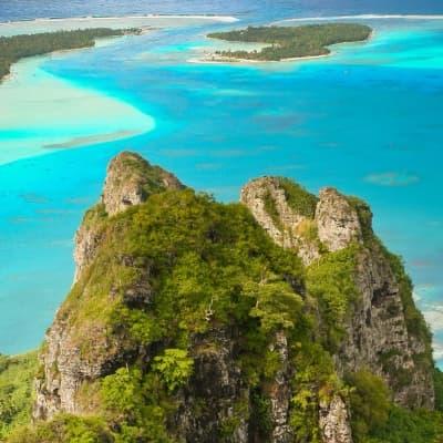 Randonnées à Bora Bora