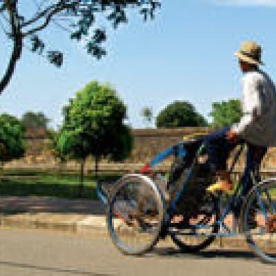 Balade en cyclo-pousse dans Chiang Mai