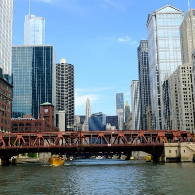 Balade en bateau avec l'Architecture River Cruise