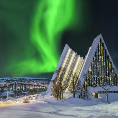 Chasse aux aurores boréales à Tromsø