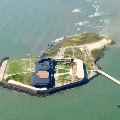 Découverte de Fort Sumter
