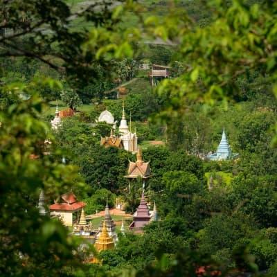 Ascension des collines d'Oudong