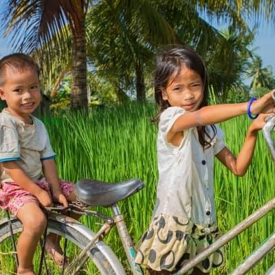 Phnom Penh à bicyclette