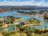 la lagune de Guatape: sejour Colombie