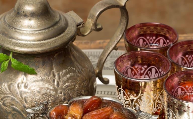 Découverte d'une maison de thé