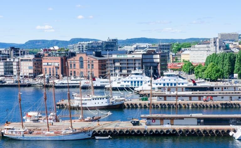 Une soirée sur le fjord d'Oslo