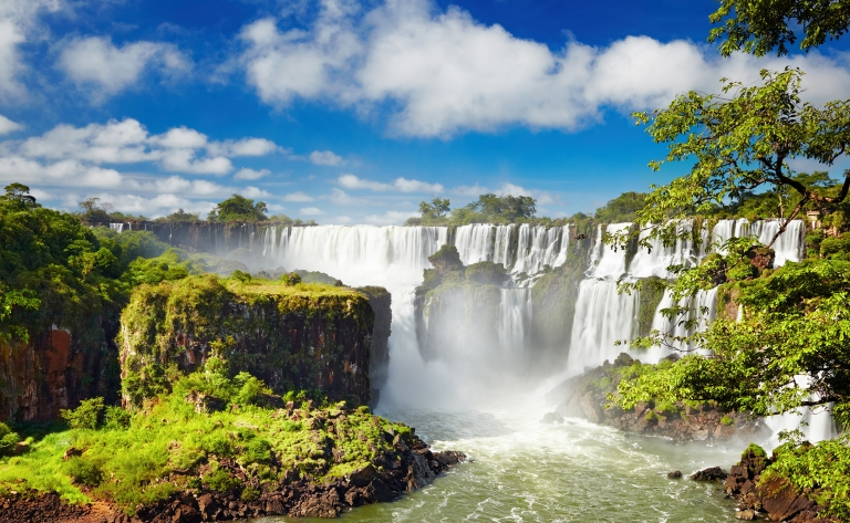 Exploration des chutes d'Iguazu côté argentin