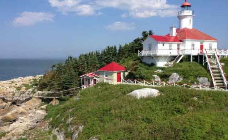 Croisière autour du phare du Pot à l'Eau-de-Vie
