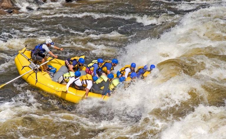 Rafting sur les rapides de Lachine