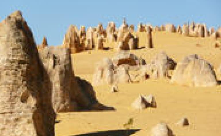 Dunes et désert des Pinnacles