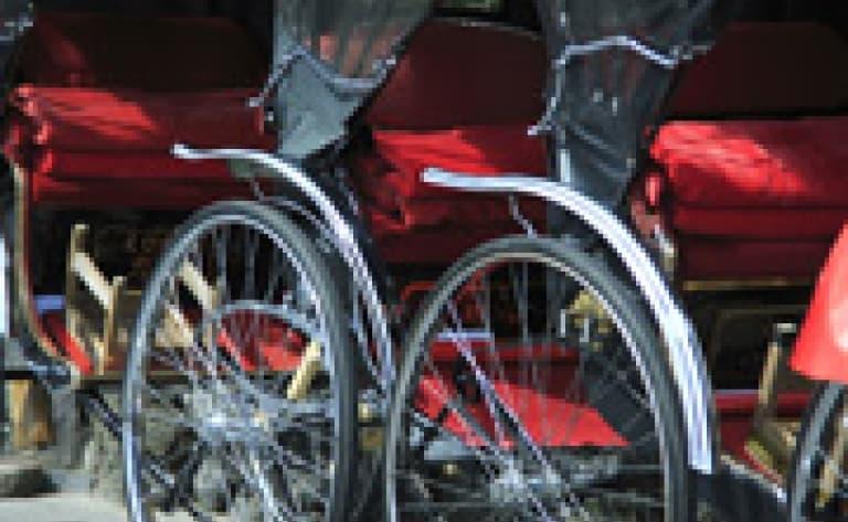 Balade en cyclo-pousse à Hanoi
