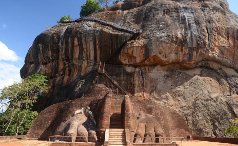 Ancienne forteresse royale de Sigiriya (ou le rocher du lion)