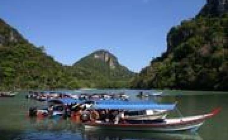 Cruise on the Kinabatangan River