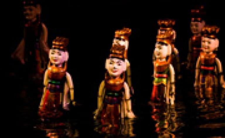 Spectacle de marionnettes sur l'eau à Hanoi