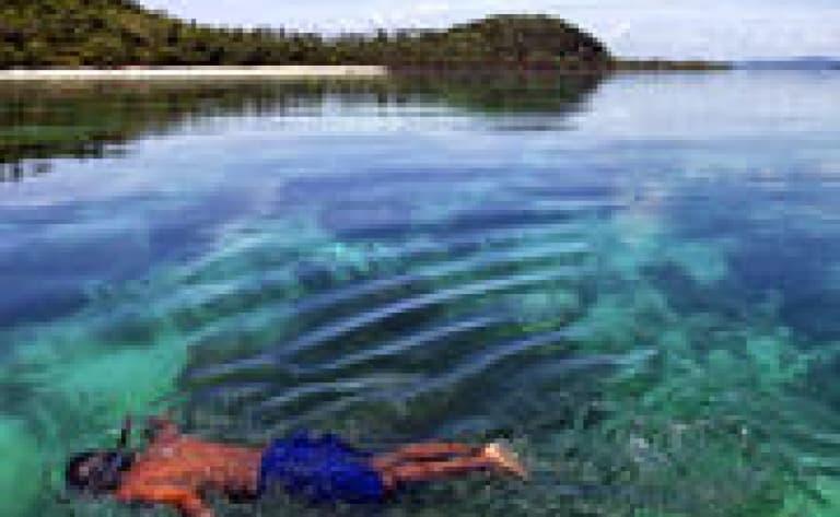 Baptême de plongée sous-marine dans le lagon Rangiroa