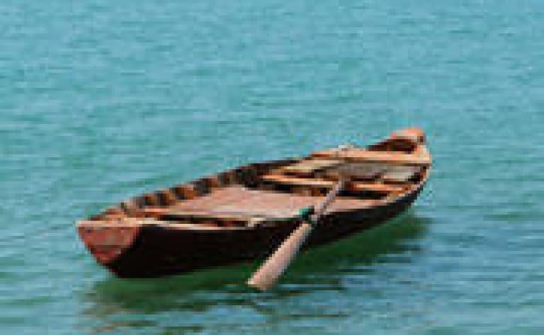 Balade en barque à Van Lam