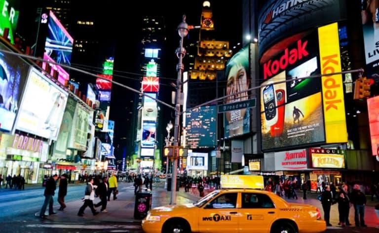 La magie de Times Square