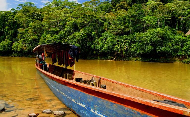 Extension : Voguez en Amazonie, sur le Rio Napo