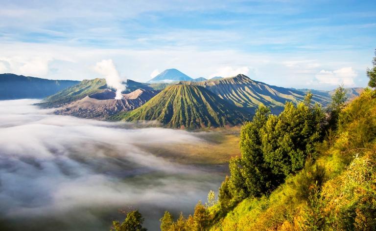 Penanjakan et le Mont Bromo