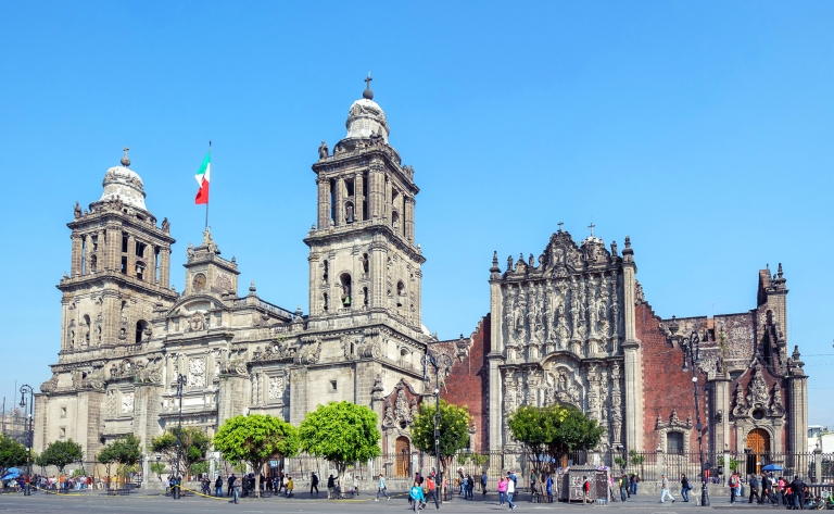 Mexico, la mégalopole