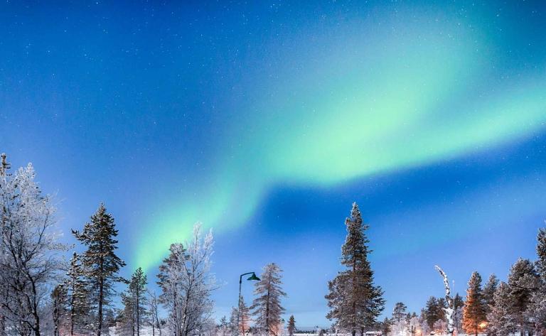 A la recherche des aurores boréales