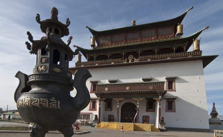 Karakorum et le monastère Erdene Zuu