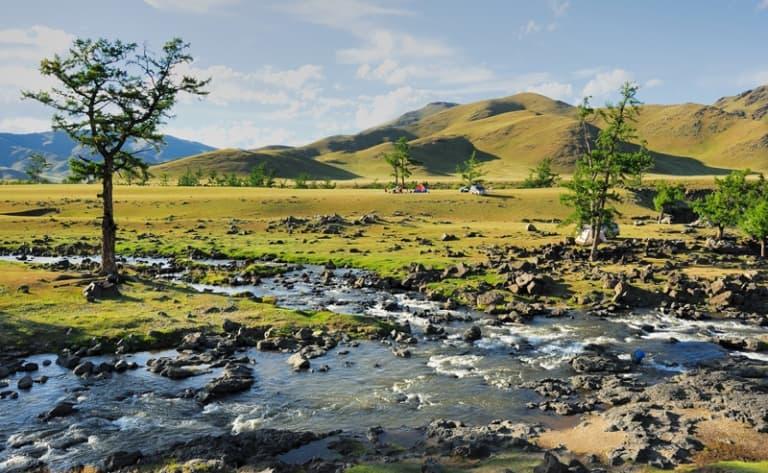 Vallée de l'Orkhon, site de l'UNESCO