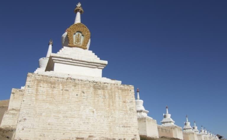 Karakorum & le monastère Erdene Zuu