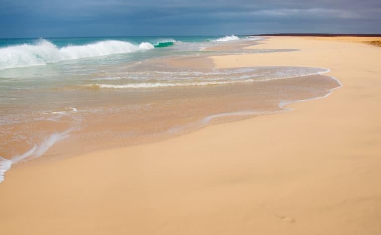 Le long des dunes
