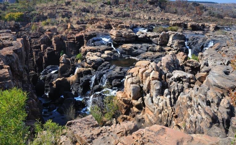 Beautés du Blyde River Canyon