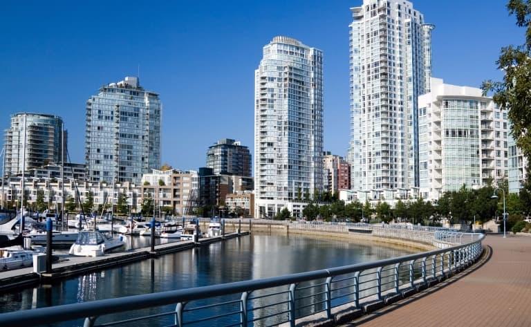Départ ou extension sur l'île de Vancouver