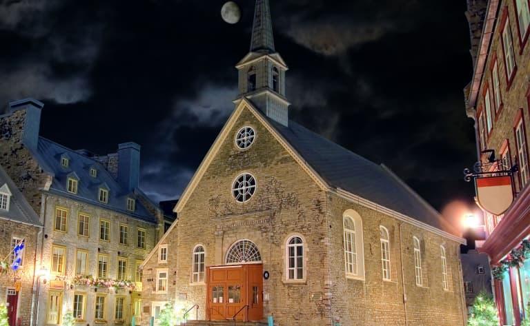 Route pour Montréal